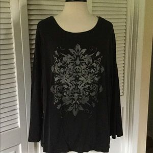 Sonoma tee with graphic motif size 2x